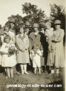 Family picture in the 1920's