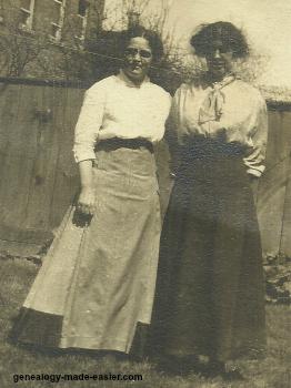 Early 1900s ladies