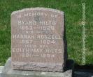 My maternal great grandparents gravestone