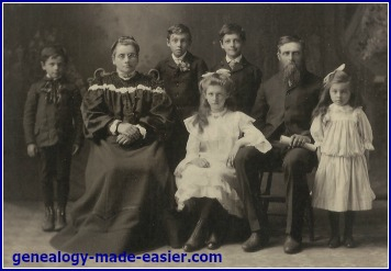 1905 family portrait