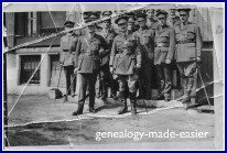 World War I Canadian Army Medical Corps Officers 5th Field Ambulance